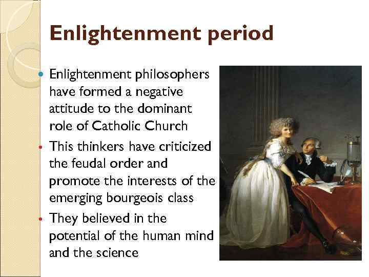 account of the enlightenment period 'reason is non-negotiable': steven pinker on steven pinker on the enlightenment the thinkers of the age of reason and the enlightenment saw an urgent.