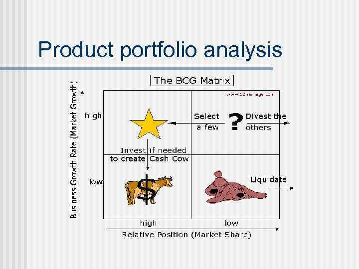 Product portfolio analysis