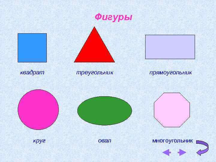 Картинка прямоугольник треугольник квадрат