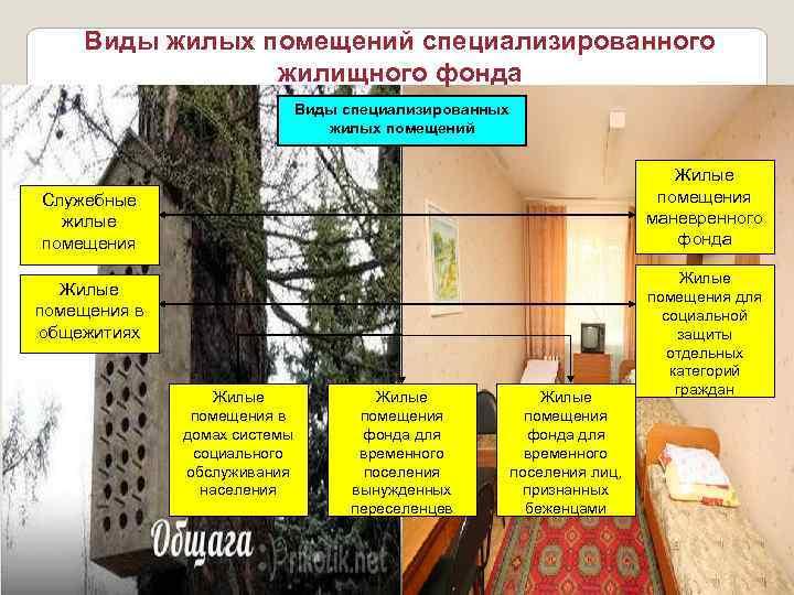 специальный жилищный фонд