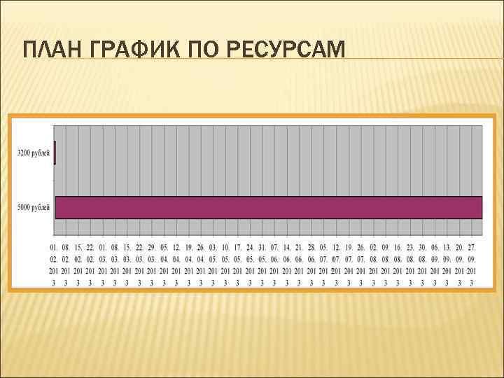 ПЛАН ГРАФИК ПО РЕСУРСАМ