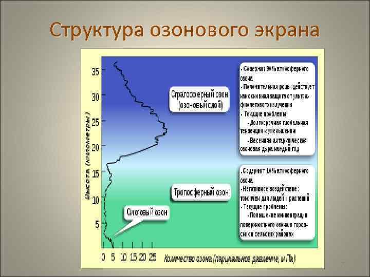 Структура озонового экрана       77