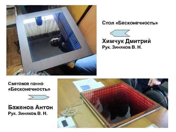 Стол «Бесконечность»     Химчук Дмитрий