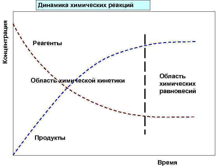 Концентрация Динамика химических реакций    Реагенты     Область химической