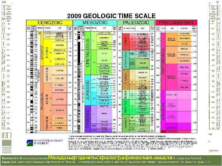 Международная стратиграфическая шкала