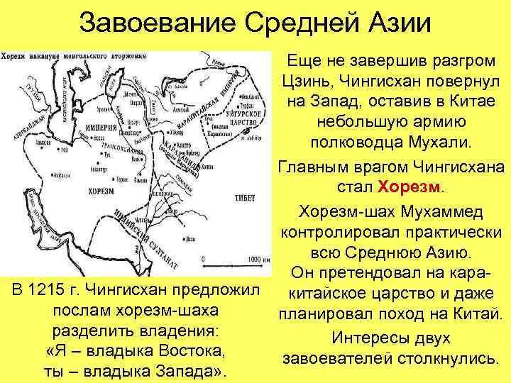 Завоевание Средней Азии      Еще не завершив разгром