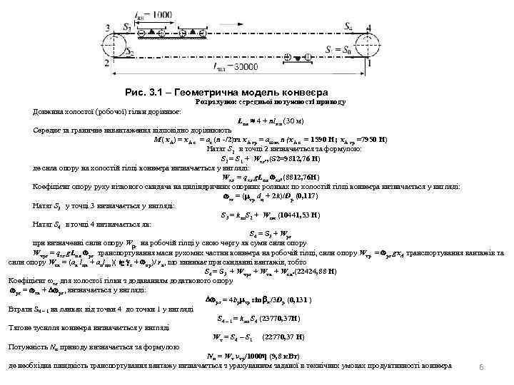 Оптимізація потужності приводу    Рис.
