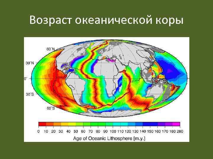 Возраст океанической коры