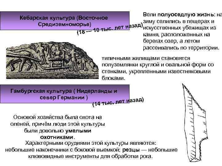 Вели полуоседлую жизнь: на Кебарская культура (Восточное