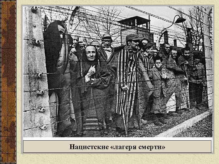 Нацистские «лагеря смерти»