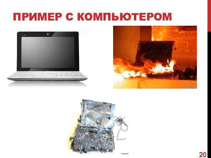 ПРИМЕР С КОМПЬЮТЕРОМ      20