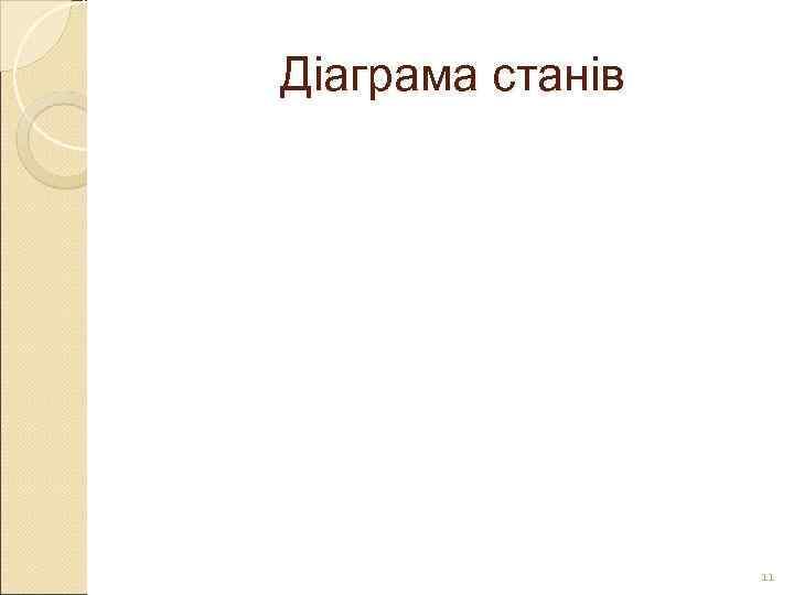 Діаграма станів    11