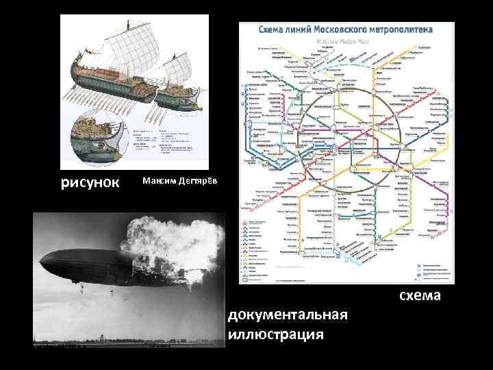 рисунок  Максим Дегтярёв     схема     документальная