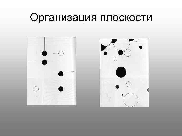 Организация плоскости