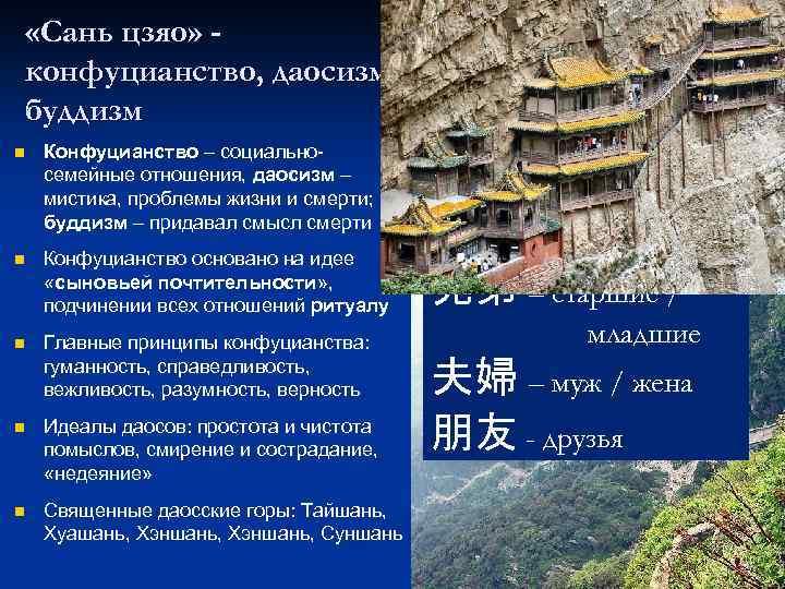 духовная картина мира в конфуцианстве кратко обратить