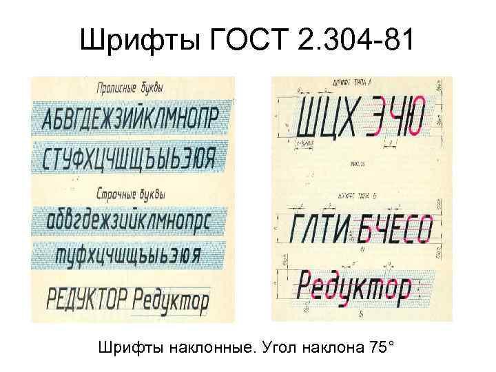 ГОСТ 2 304 81 ШРИФТЫ ЧЕРТЕЖНЫЕ СКАЧАТЬ БЕСПЛАТНО