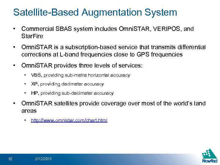 An Introduction to GNSS Presentation Outline