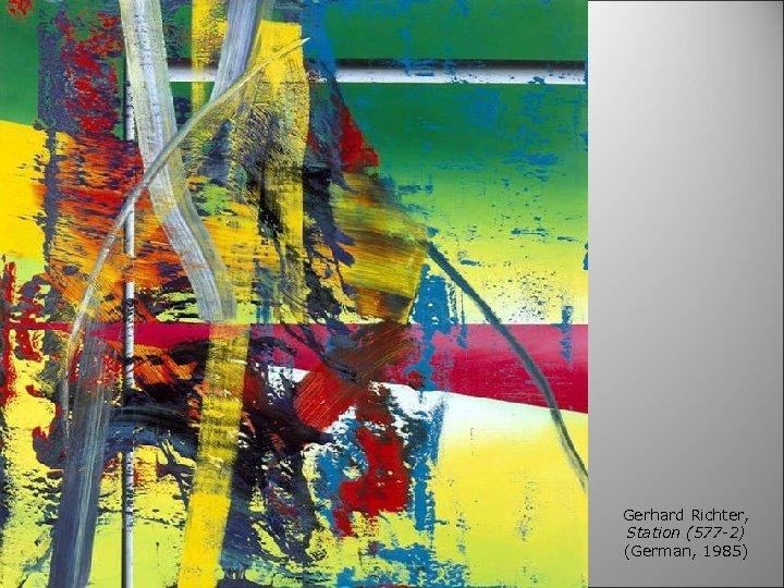 Gerhard Richter, Station (577 -2) (German, 1985)