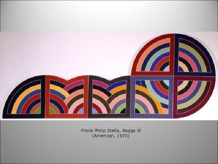 Frank Philip Stella, Raqqa II (American, 1970)