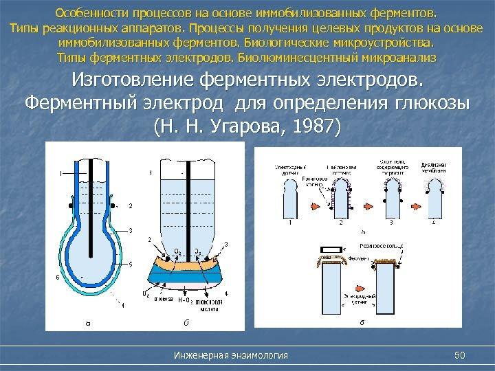 Особенности процессов на основе иммобилизованных ферментов. Типы реакционных аппаратов. Процессы получения целевых продуктов на