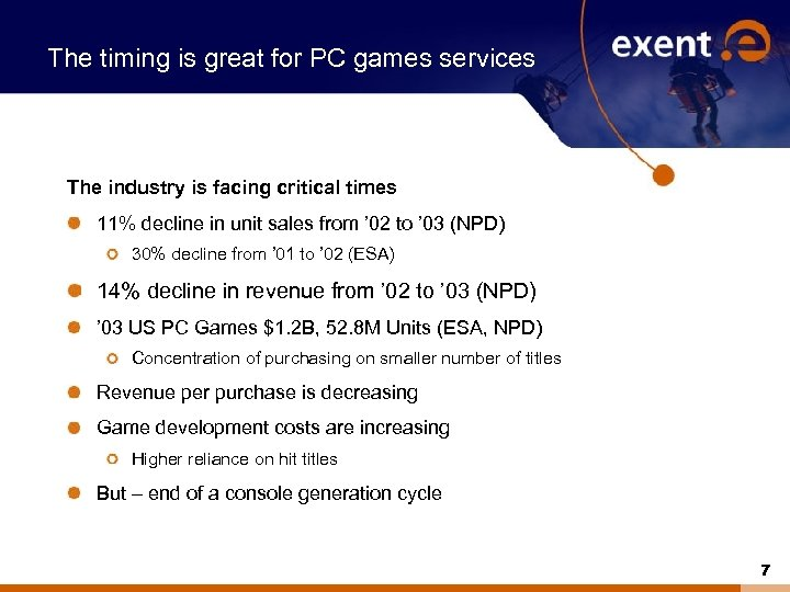 The timing is great for PC games services The industry is facing critical times