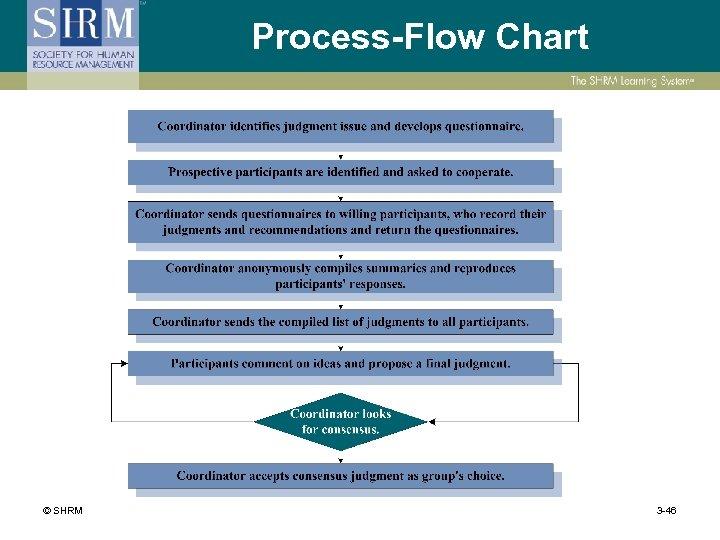 Process-Flow Chart © SHRM 3 -46