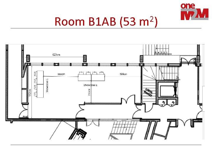 Room B 1 AB (53 m 2)