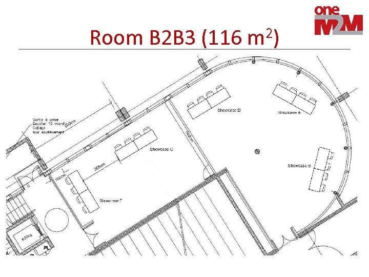 Room B 2 B 3 (116 m 2)