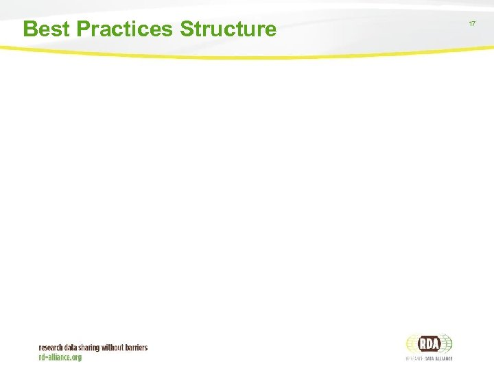 Best Practices Structure 17