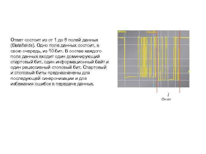 Ответ состоит из от 1 до 8 полей данных (Datafields). Одно поле данных состоит,