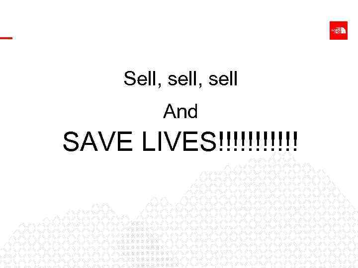Sell, sell And SAVE LIVES!!!!!!