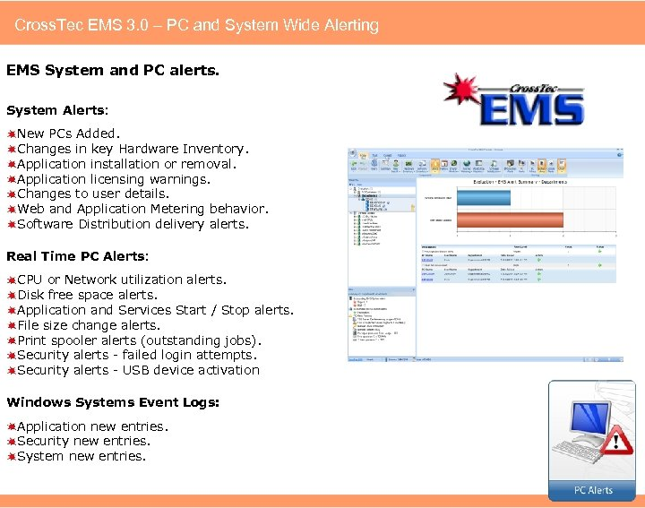 Cross. Tec EMS 3. 0 – PC and System Wide Alerting EMS System and