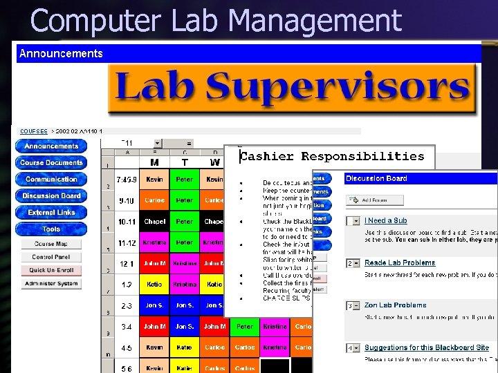 Computer Lab Management