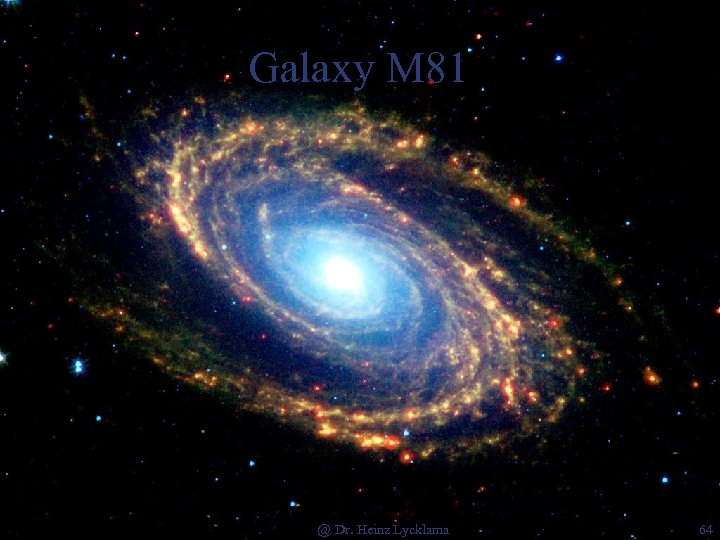 Galaxy M 81 @ Dr. Heinz Lycklama 64