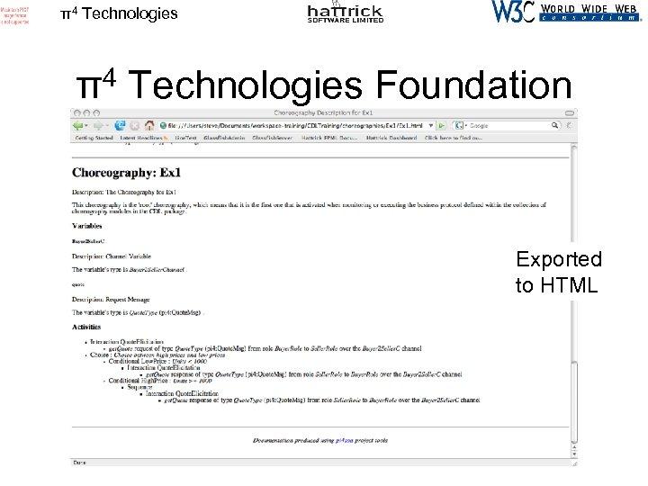 π4 Technologies Foundation Exported to HTML