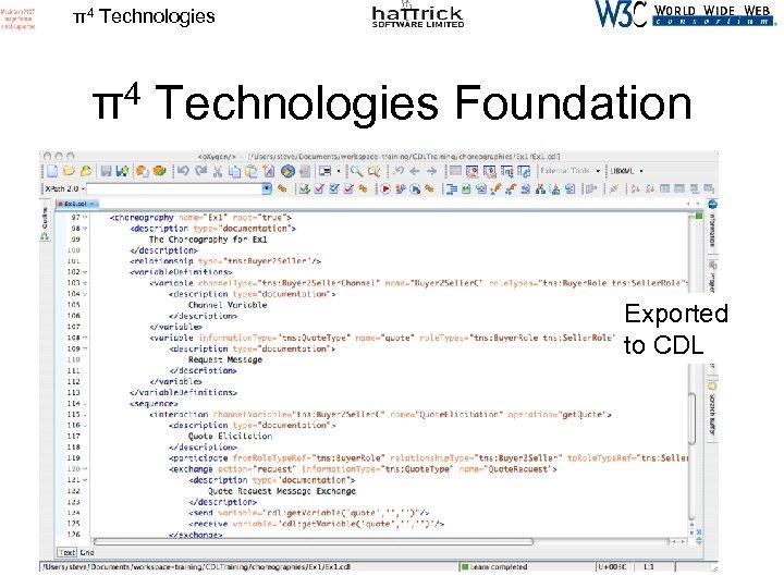 π4 Technologies Foundation Exported to CDL