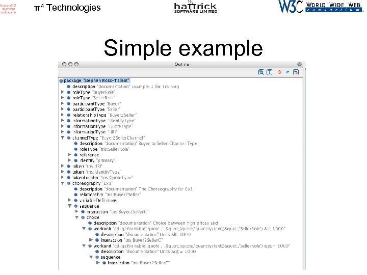 π4 Technologies Simple example