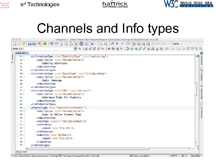 π4 Technologies Channels and Info types