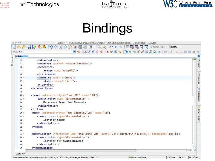 π4 Technologies Bindings