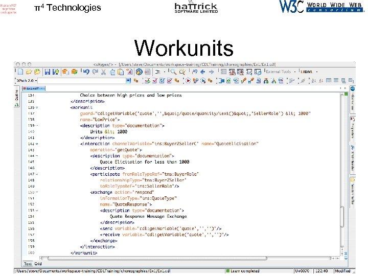 π4 Technologies Workunits