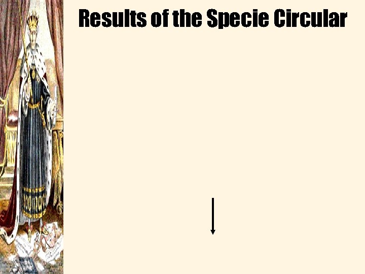 Results of the Specie Circular