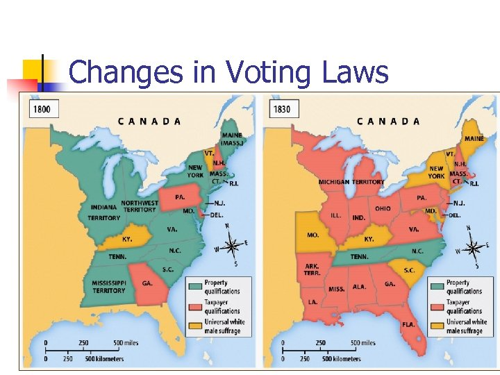 Changes in Voting Laws
