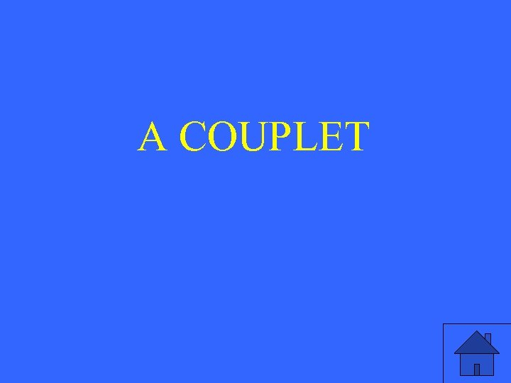 A COUPLET