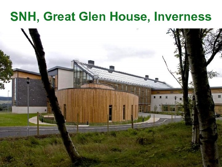 SNH, Great Glen House, Inverness