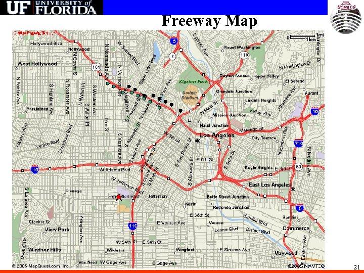 Freeway Map 21