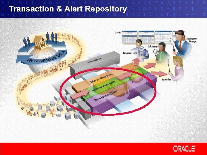 Transaction & Alert Repository