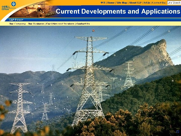 Current Developments and Applications 12