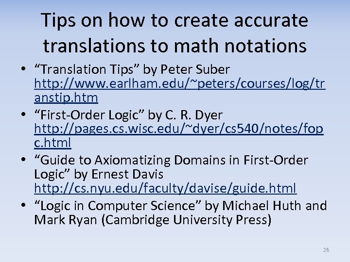 """Tips on how to create accurate translations to math notations • """"Translation Tips"""" by"""