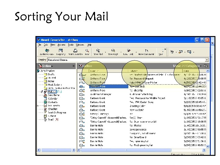 Sorting Your Mail