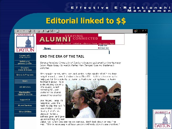 Editorial linked to $$ 37